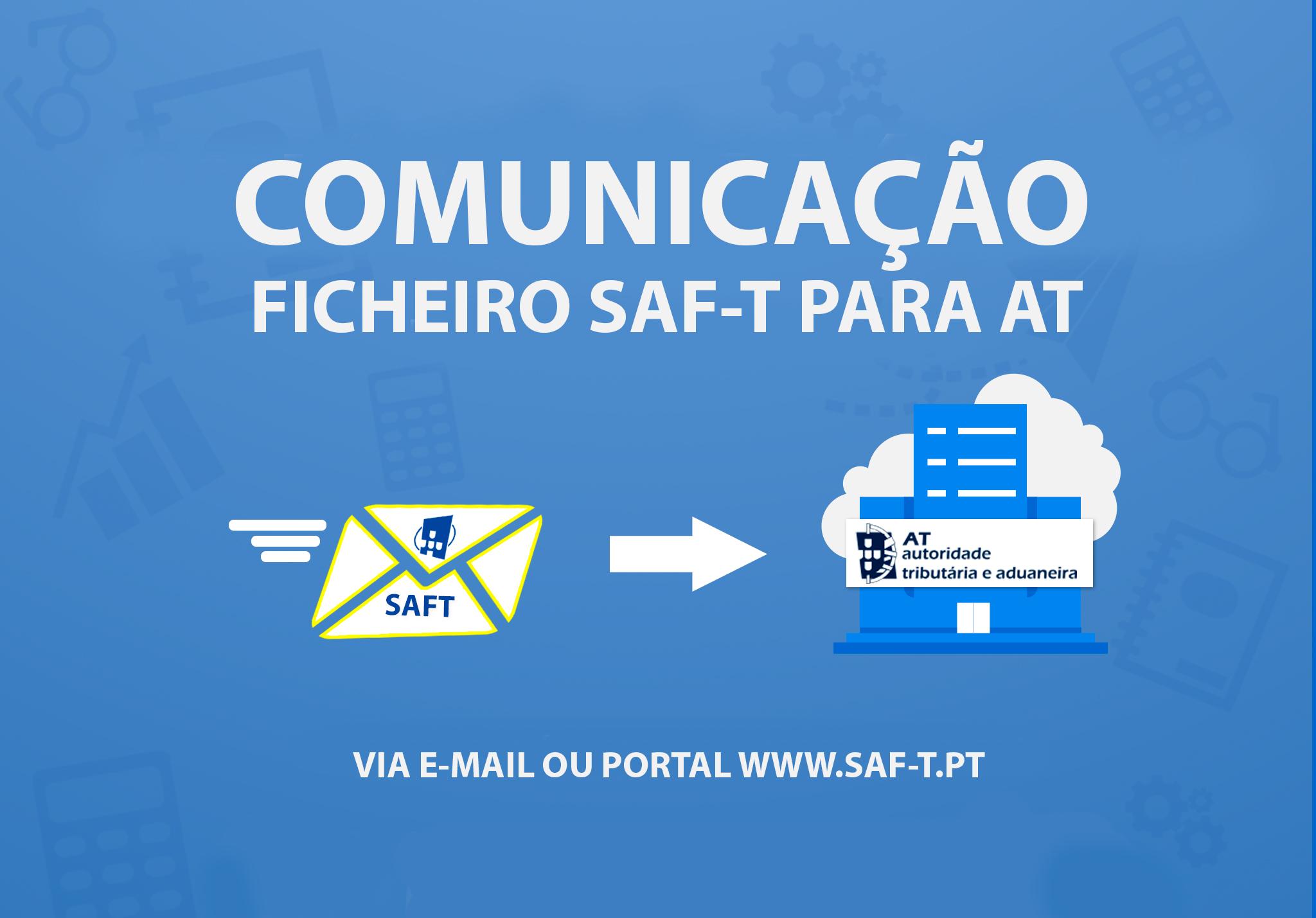 Comunicação do ficheiro SAF-T com AT